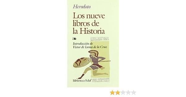 Nueve Libros De Historia, Los (Biblioteca Edaf): Amazon.es ...