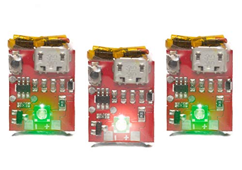 Strobon 3 Pack Cree Navigation Battery Operated Strobe Lights for Drones