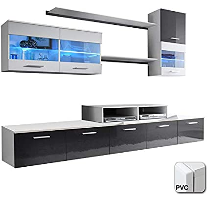 muebles bonitos - Mueble de salón Claudia Mod.2 Puerta PVC ...