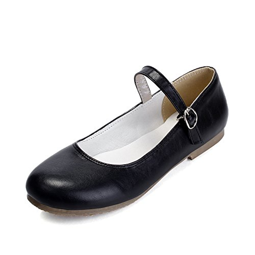 Summer Mary Spring Jane Casual Black MFairy Vintage Shoes Fashion Woman's FpxtRnT