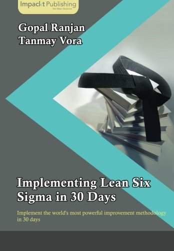 Implementing Lean Six Sigma in 30 Days pdf