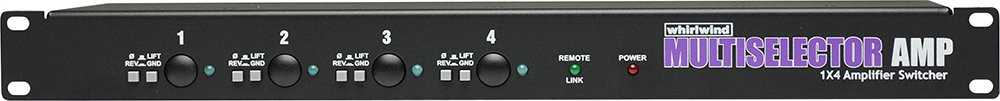 Whirlwind MULTISELECTOR AMP Instrument Amp Switcher