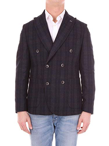 Wool Blazer G023700blue Men's Bottega Martinese Blue awx8IqnXCB