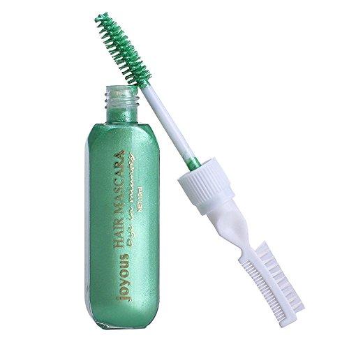 Professional Temporary Hair Mascara Hair Color Stick Salon Diy Hair (Dye Hair Gray Halloween)