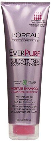 Système de soins L'Oréal Paris EverPure couleur sans sulfate humidité shampooing, 8,5 Fluid Ounce