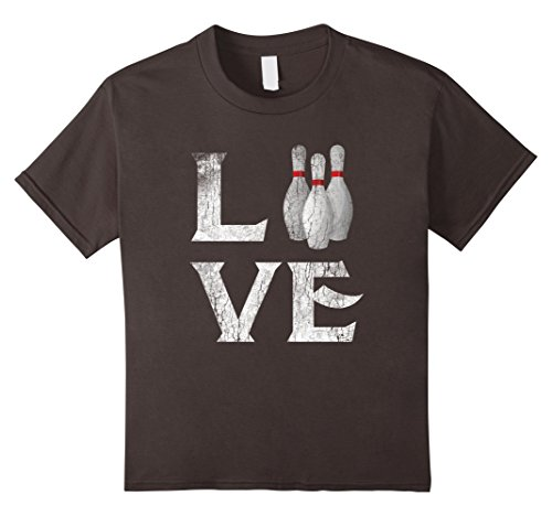 unisex-child Love Bowling T shirt Tee Ball Game Have Fun ...