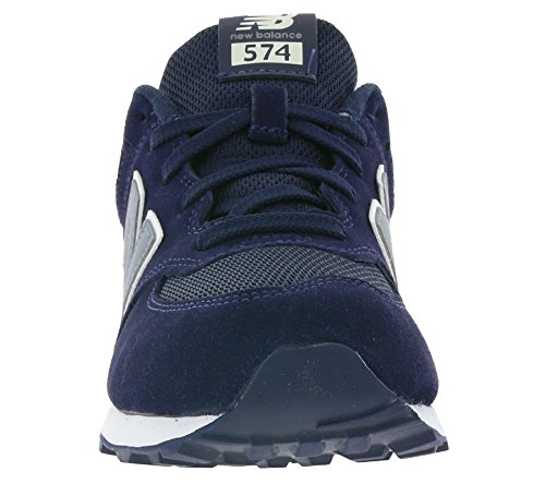 New Balance Basses Sneakers Bleu Mixte Visibility High 574 Enfant FTqwSFC