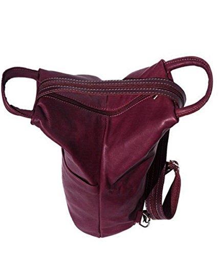 Handbag Bliss - Bolso de tela de cuero para mujer gris gris