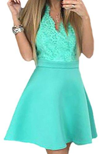 erdbeerloft - Vestido - para mujer azul claro