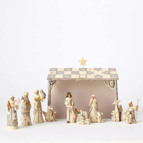 Jim Shore Heartwood Creek JS Hwc Fig Wdlnd Mini Nativ Se Figurine