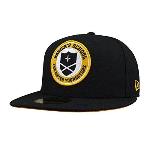X Men Symbol (New Era X-Men Xavier Institute 59Fifty Hat- 7 1/2)