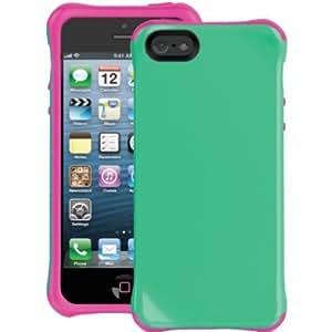 Ballistic AP1085-A035 Aspira TPU Case for iPhone 5 - 1 Pack - Retail Packaging - Mint Green/Strawberry Pink