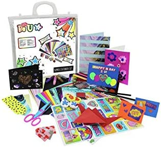 Party Invites Scrapbook Pages And Much More Birthday Cards Amazing Crystal Gifts Chad Valley Bumper Stationery Set Includes To Create Cool Projects