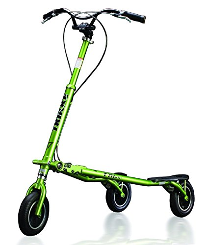 Trikke Tech T78 Deluxe Scooter, Green