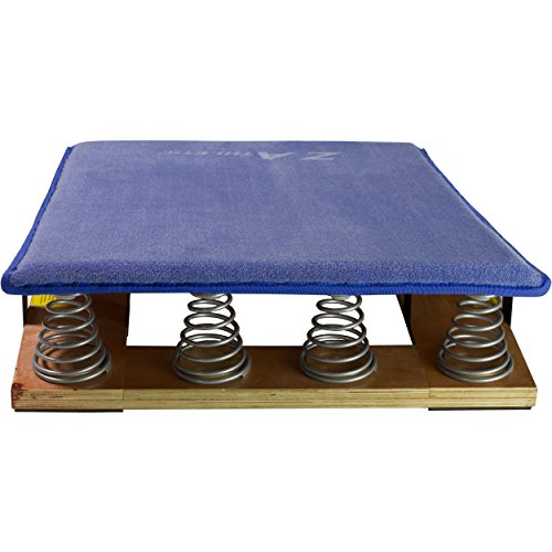 Z-Athletic Junior Springboard for Gymnastics (Small, Blue) by Z-Athletic (Image #2)