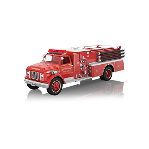 Fire Engine Ornament (Hallmark 2014 1971 GMC Fire Engine)