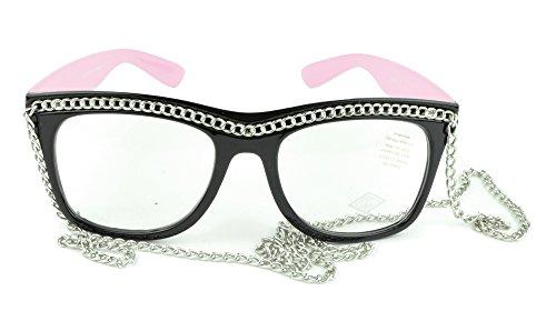 Belle Donne - Womens Fashion Hot Celebrity Style Gold Chain Sunglasses- - Wiz Khalifa Glasses
