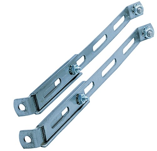 HELLA 116741801 Auxiliary Lamp 2-Point Mounting Brackets - Set of 2