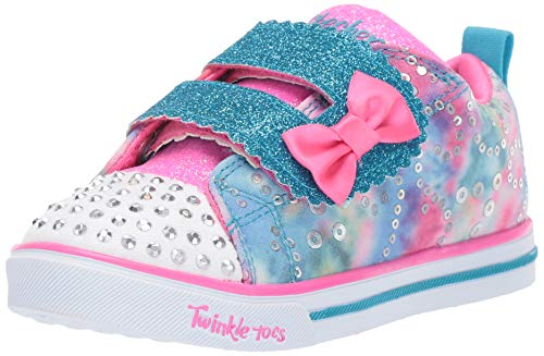 - Skechers Kids Girls' Sparkle LITE-Rainbow Cuties Sneaker, Multi, 12 Medium US Little Kid