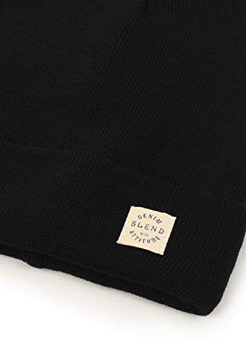 Black 70155 Beanie Blend para Scam Hombre qRwHgI