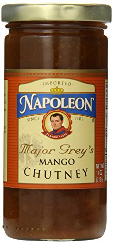 Napoleon Major Grey's Mango Chutney, 11 Ounce