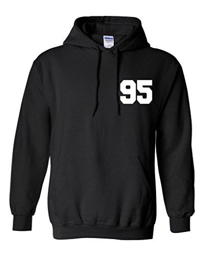 Michael Clifford 95 Unisex Mens Womens Hoodie Sweatshirt Jumper Pullover, Black, L