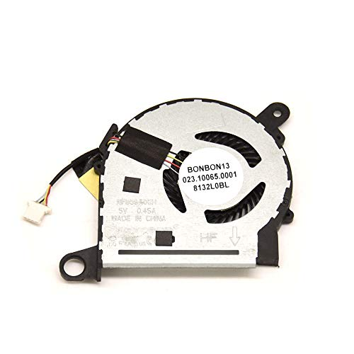 BAY Direct 4 Pin Replacement CPU Cooling Fan for HP Pavilion X360 M3-U M3-U103DX M3-U105DX Series Compatible Part Number 855966-001