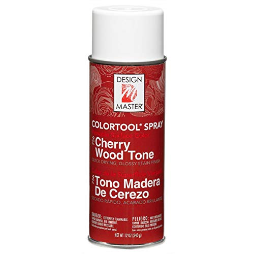 Tone Spray Paint - Design Master 756 Cherry Wood Tone Colortool Spray