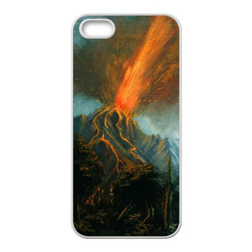 SYYCH Phone case Of Volcanic Eruptions Cover Case For iPhone 5,5S