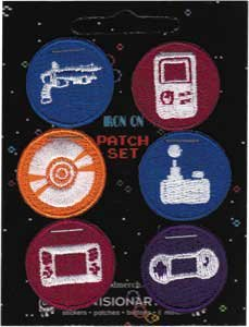 novelty-iron-on-patch-video-games-video-controller-set-of-six-patch-applique