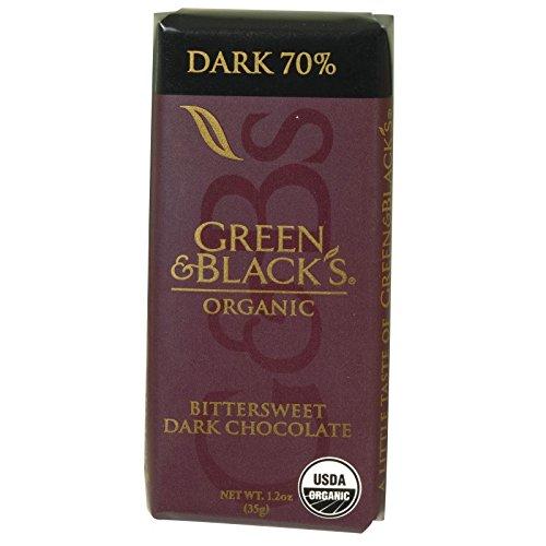 Green and Blacks Organic Chocolate Bars - Bittersweet Dar...