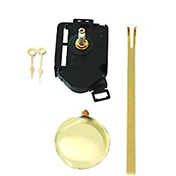 Quartz Clock Movement and Pendulum Set