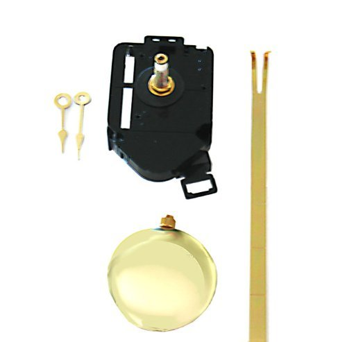 Quartz Clock Movement and Pendulum Set Blank Clock