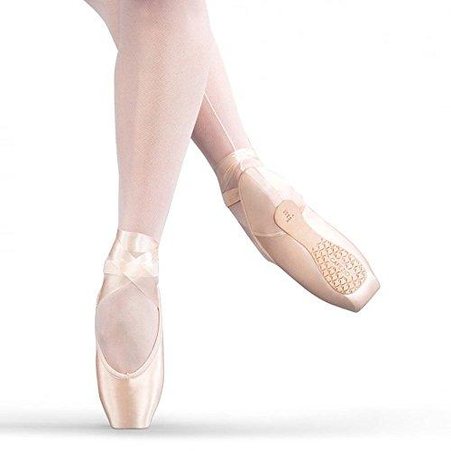 (Sansha Soft-Toe, DP801 Demi-Pointe Shoe (NO SHANK), Peach Pink, 10 M)