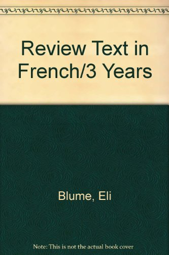 Review Text in French/3 Years