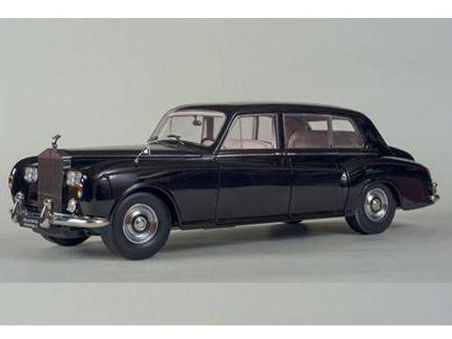 1964 Rolls Royce Phantom V MPW Black 1/18 by Paragon 98213 from Royce Rolls