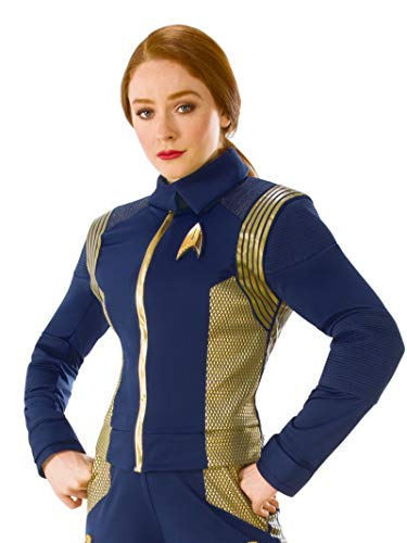 Star Trek Discovery Gold Command Uniform Women's Costume-Standard/Medium
