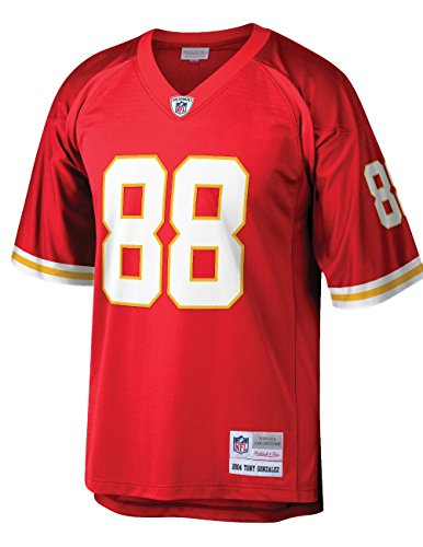 Mitchell & Ness Kansas City Chiefs Tony Gonzalez 2004 Throwback Replica Jersey (XX-Large)