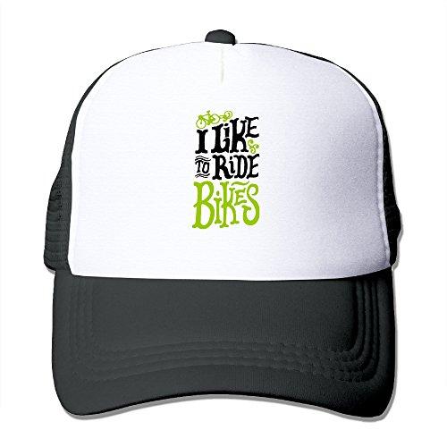 XJBD-Unisex-Adult-I-Like-To-Ride-Bikes-Baseball-Caps-Hat-Black