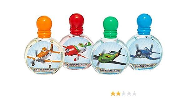 Disney - 5902 - Set Estuche 4 Miniaturas Eau de Toilette Aviones 7 ml 3 años: Amazon.es: Belleza