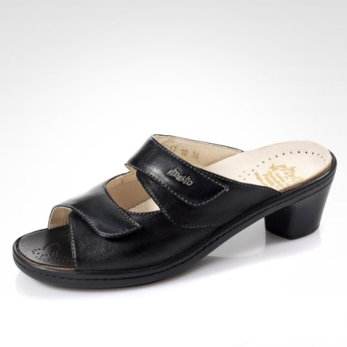 Fidelio Kvinners Hallux Fabia Ilke Lindring Glide Kjole Sandal 33517 (svart)