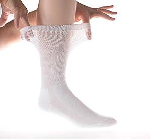 12 Pair Diabetic Socks crew length,Physicians Choice