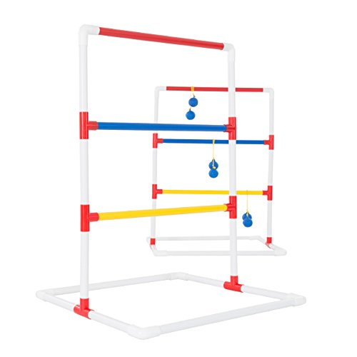 Deluxe PVC Ladder Toss Set - Includes Easy Carry Case! by TMG
