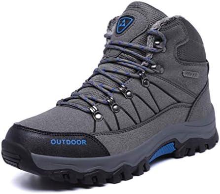 ウォーキングシューズ メンズ スノーブーツワークブーツ ラウンドトゥ ハイカット ショートブーツ レースアップ 革靴 厚底 アウトドア 紳士靴 冬用 安全靴 マーティンブーツ 裏起毛 デザートブーツ