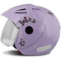 Capacete Ebf Thunder Open New Summer 58 Lilas
