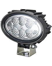 Hella 1GA 996 761-111 reflektor roboczy - owalny 100 Compact - LED - 12 V/24 V - 1850 lm - mocowanie pałąkowe - wiszący/stojący - dalekie oświetlenie - niemiecki