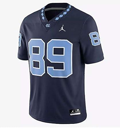 c7dc6f5f77c NWT Jordan Brand #89 North Carolina Tar Heels Navy Game Football Jersey  (bb082) at Amazon's Sports Collectibles Store