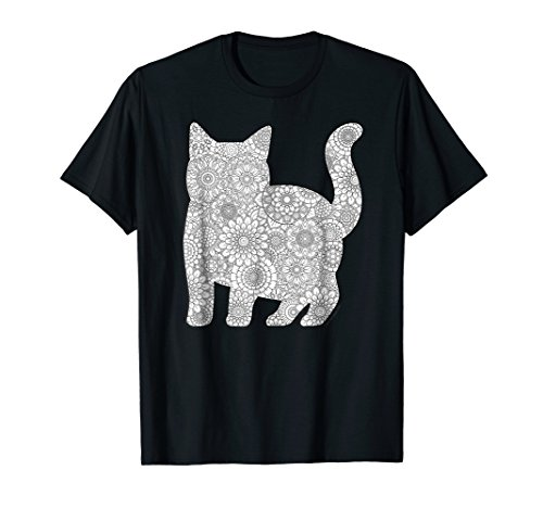 Adult Coloring Book T Shirt