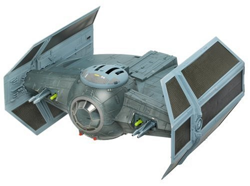 Hasbro Vehicle (Star Wars Starfighter Vehicle Darth Vader Tie Advanced Starfighter Vehicle)