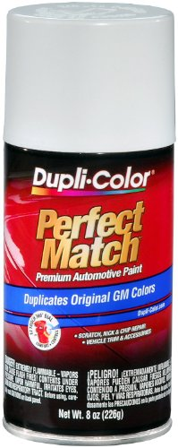 Dupli-Color BGM0387 Pure White General Motors Exact-Match Automotive Paint - 8 oz. Aerosol
